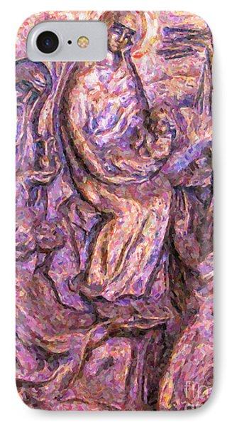 Birth Of Christ IPhone Case by Antony McAulay
