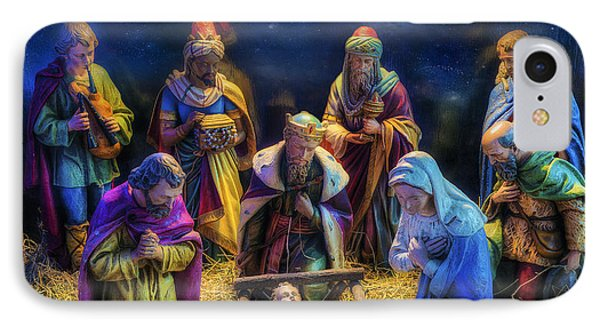 Birth Of Jesus IPhone Case by Ian Mitchell