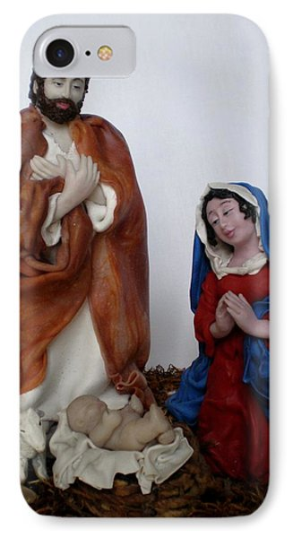 Birth Of Jesus Phone Case by Natalia Elerdashvili