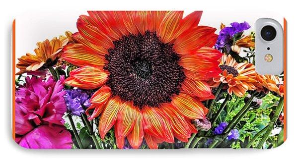 Birthday Bouquet Phone Case by Joan  Minchak