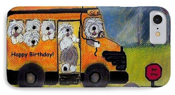 Birthday Bus IPhone Case
