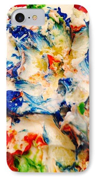 Birthday Cake IPhone Case by Fania Simon