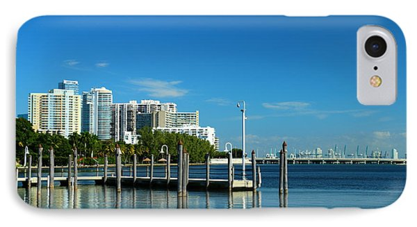 Biscayne Bay View IPhone Case by Christiane Schulze Art And Photography