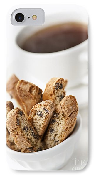 Biscotti And Coffee Phone Case by Elena Elisseeva
