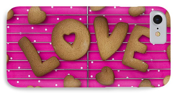 Biscuit Love Phone Case by Tim Gainey
