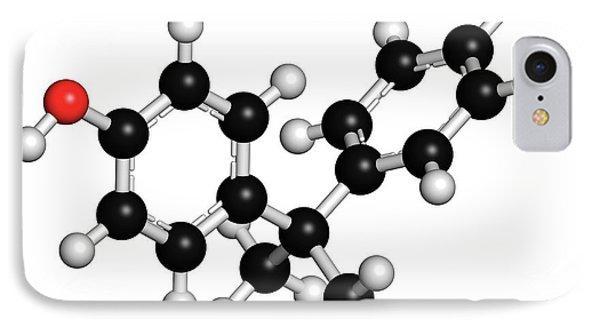 Bisphenol A Plastic Pollutant Molecule IPhone Case