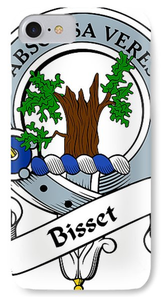 Bisset Clan Badge Phone Case by Heraldry