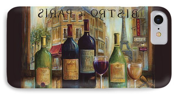 Bistro De Paris IPhone Case by Marilyn Dunlap