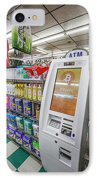 Bitcoin Atm IPhone Case