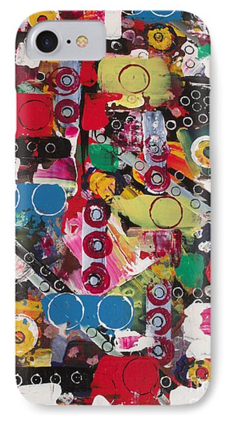 Bits And Bobs IPhone Case by Rachel Carmichael