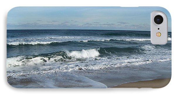 IPhone Case featuring the photograph Winter Beach  by Eunice Miller