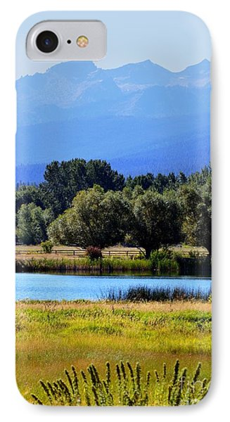 IPhone Case featuring the photograph Bitterroot Valley Montana by Joseph J Stevens