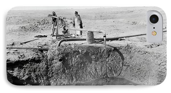 Bitumen Well In Iraq IPhone Case by Library Of Congress