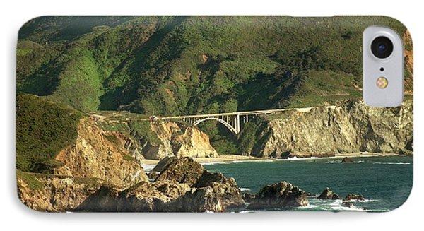 Bixby Bridge Phone Case by DJ Laughlin