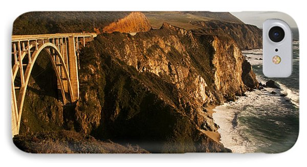 IPhone Case featuring the photograph Bixby Bridge by Lee Kirchhevel
