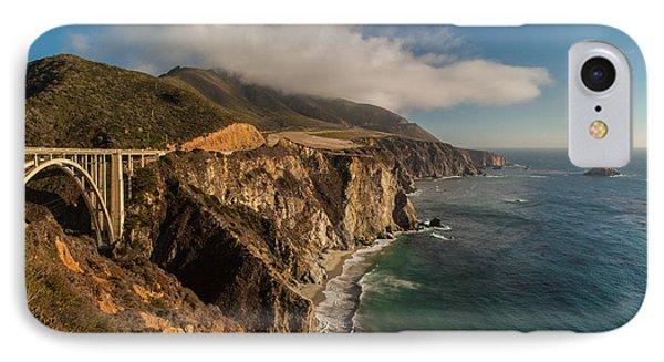Bixby Coastal Drive IPhone Case by Mike Reid