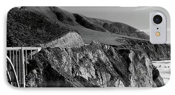 Bixby Creek Bridge, Big Sur IPhone Case by Panoramic Images