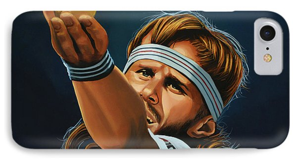 Bjorn Borg IPhone 7 Case by Paul Meijering