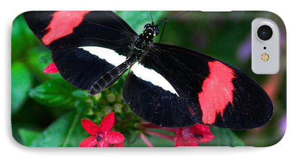 Black And Coral Phone Case by Karen Stephenson