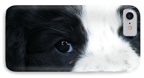 Black And White And Reading You All Over  IPhone Case by Brian Boyle