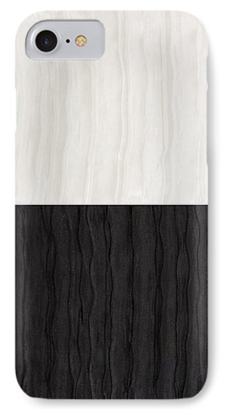 Black And White Attraction Phone Case by Margaret Ivory