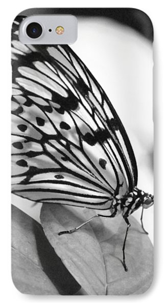 IPhone Case featuring the photograph Black And White Beauty by Amee Cave