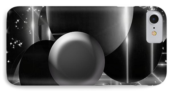 Black And White Glory IPhone Case by Gayle Price Thomas