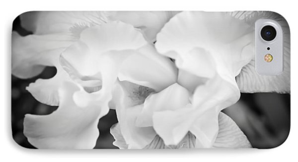IPhone Case featuring the photograph Black And White Hibiscus by Kara  Stewart