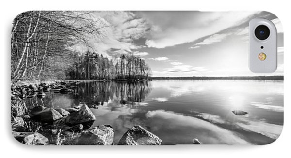 Black And White Landscape IPhone Case