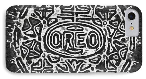Black And White Oreo IPhone Case