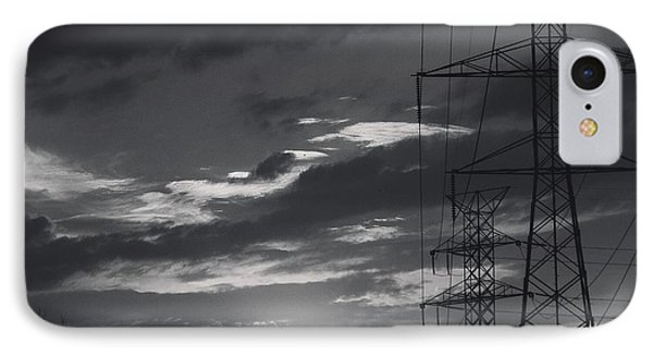 Black And White Skies IPhone Case