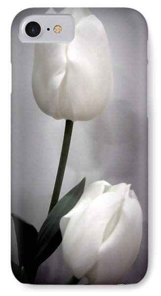 Black And White Tulips  Phone Case by Danielle  Parent