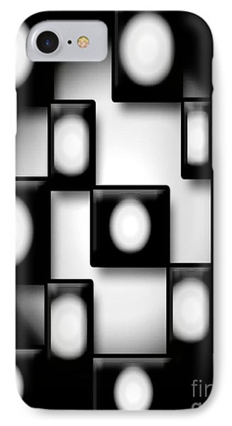 Black And White Unite  IPhone Case by Gayle Price Thomas