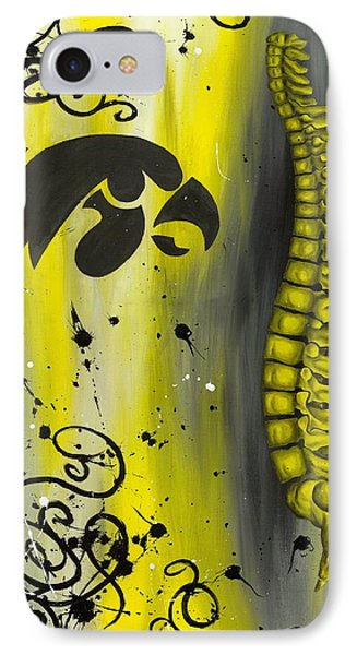 Black And Yellow Phone Case by Brent Buss