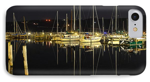 Black As Night Phone Case by Frozen in Time Fine Art Photography