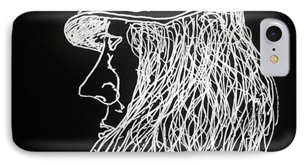 IPhone Case featuring the painting Black Book 06 by Rand Swift