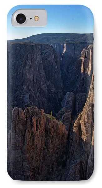 IPhone Case featuring the photograph Black Canyon Into The Deep Hdr by Eric Rundle