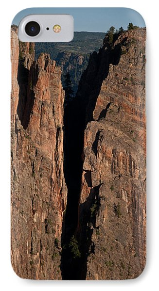 IPhone Case featuring the photograph Black Canyon Island View  by Eric Rundle