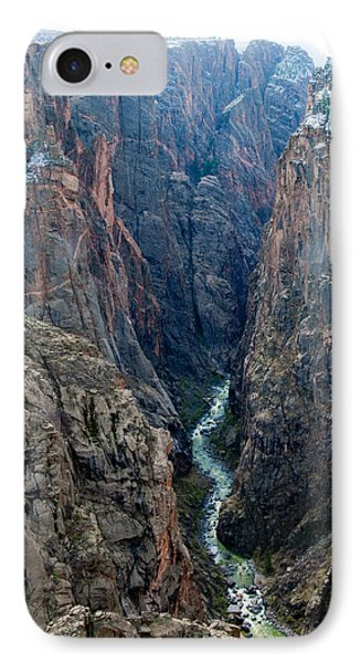 Black Canyon The River  IPhone Case by Eric Rundle