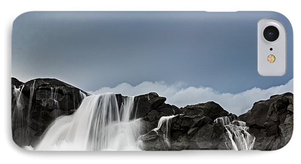 Black Cliffs IPhone Case