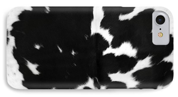 IPhone Case featuring the photograph Black Cowhide by Gunter Nezhoda