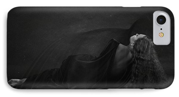Black Dress IPhone Case by Evgeniy Lankin