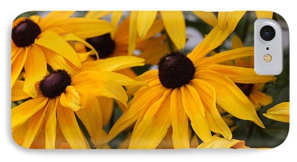 Black Eye Susan Flower IPhone Case
