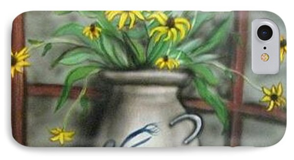Black Eyed Susan Phone Case by Kendra Sorum