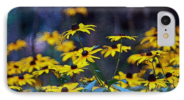 IPhone Case featuring the photograph Black-eyed Susans by Patricia Griffin Brett