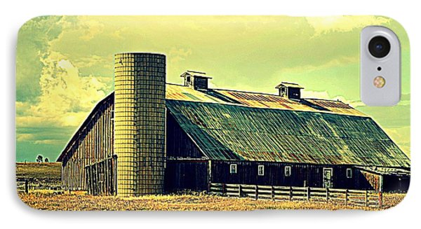 Black Forest Road Barn IPhone Case by Antonia Citrino