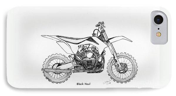 Black Haul IPhone Case by Stephen Brooks