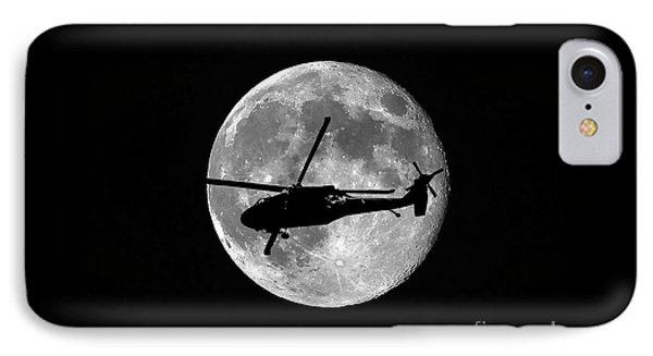 Black Hawk Moon Phone Case by Al Powell Photography USA