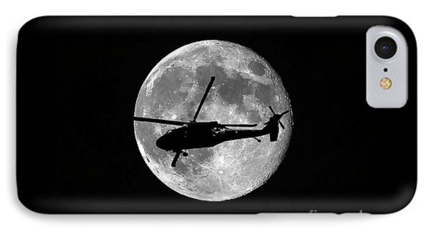 Black Hawk Moon IPhone Case by Al Powell Photography USA