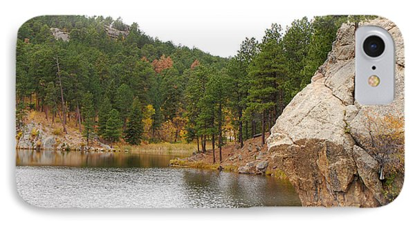 Black Hills Lake IPhone Case by Mary Carol Story